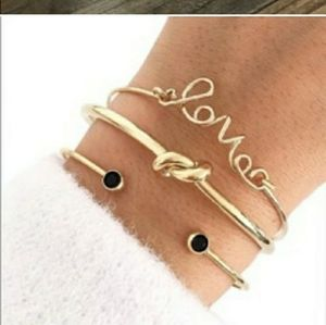 3 piece Stacking Bracelets  PRICE DROP